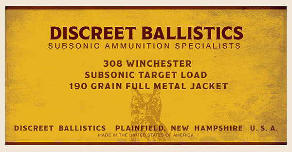 308 Winchester Subsonic