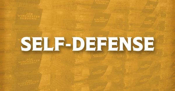 Self-Defense Subsonic Ammunition