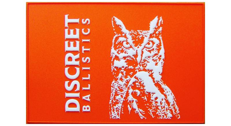 Discreet Ballistics PVC Patch