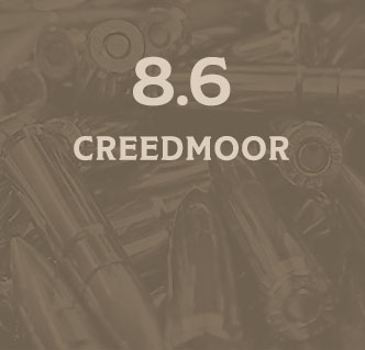 8.6 Creedmoor Subsonic Load